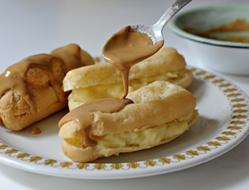 Gluten Free and Dairy Free Choux Pastry Eclairs