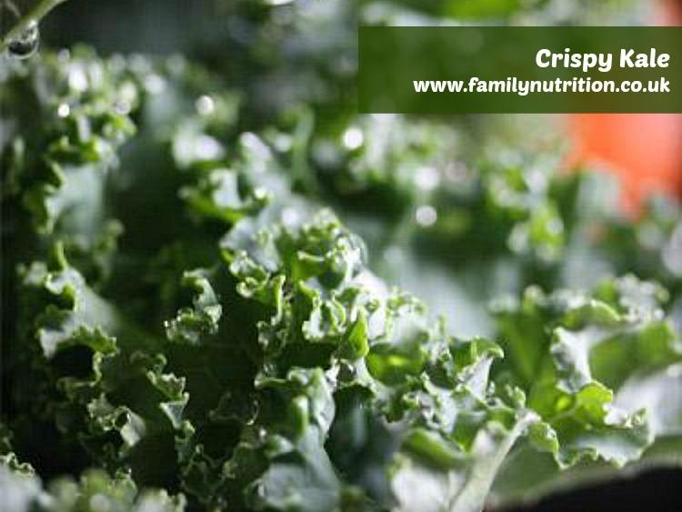 Oven Crisped Kale